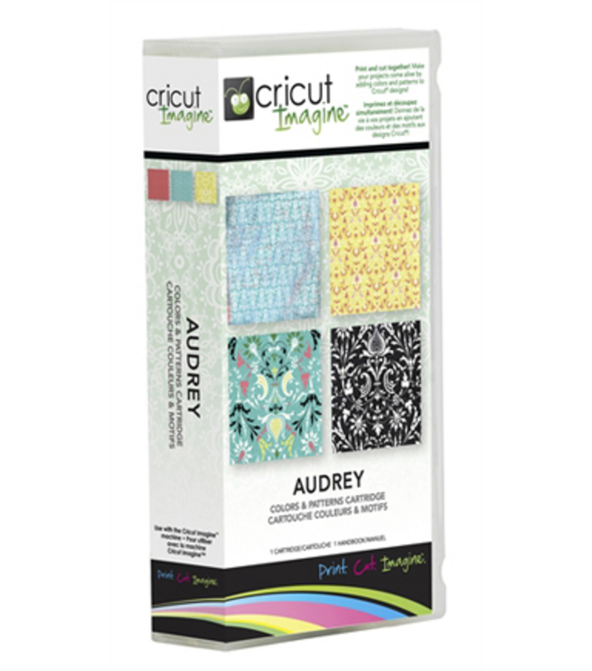 Cricut® Imagine Colors & Patterns Cartridge-Audrey