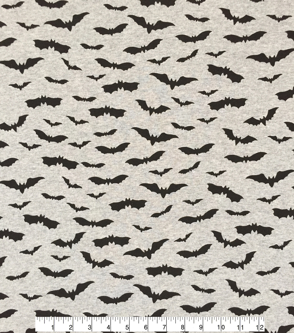 Doodles Halloween Interlock Cotton Fabric 57\u0022-Bats