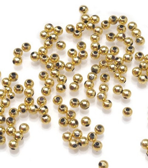 Darice 4mm Round Pearls-1500PK