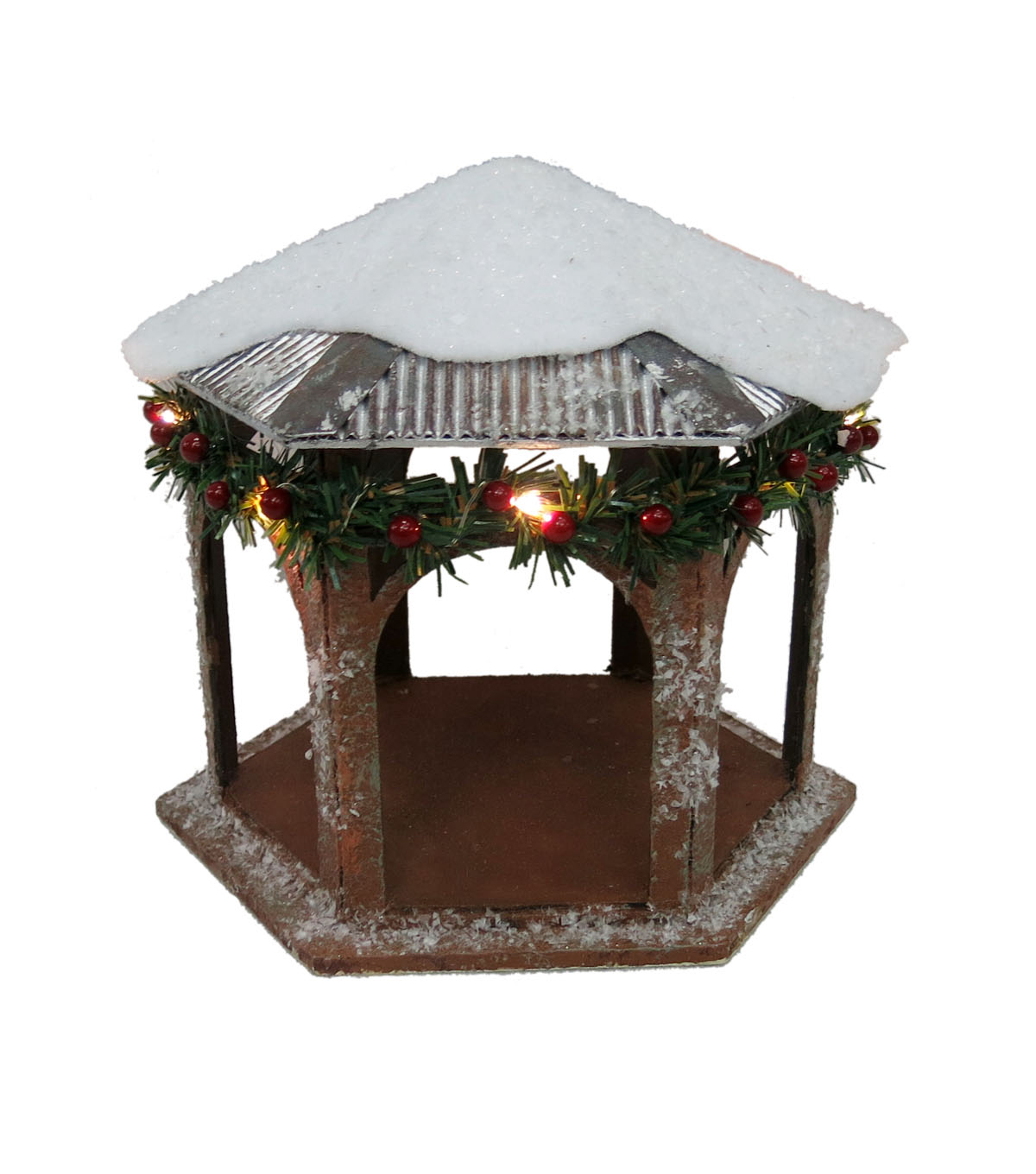 Maker\u0027s Holiday LED Paper Gazebo