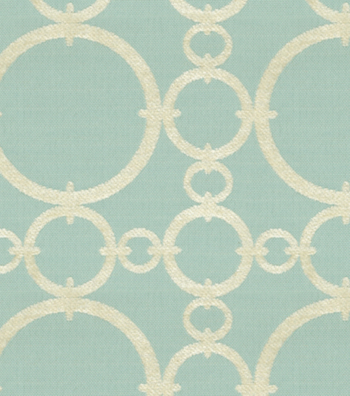 Home Decor 8\u0022x8\u0022 Fabric Swatch-Upholstery Fabric-Waverly Connected/Aquamarine