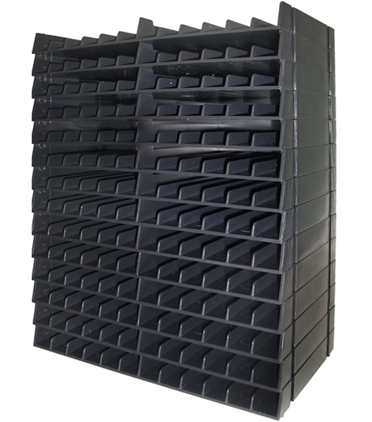 Spectrum Noir Marker Storage Racks Holds 168-Black