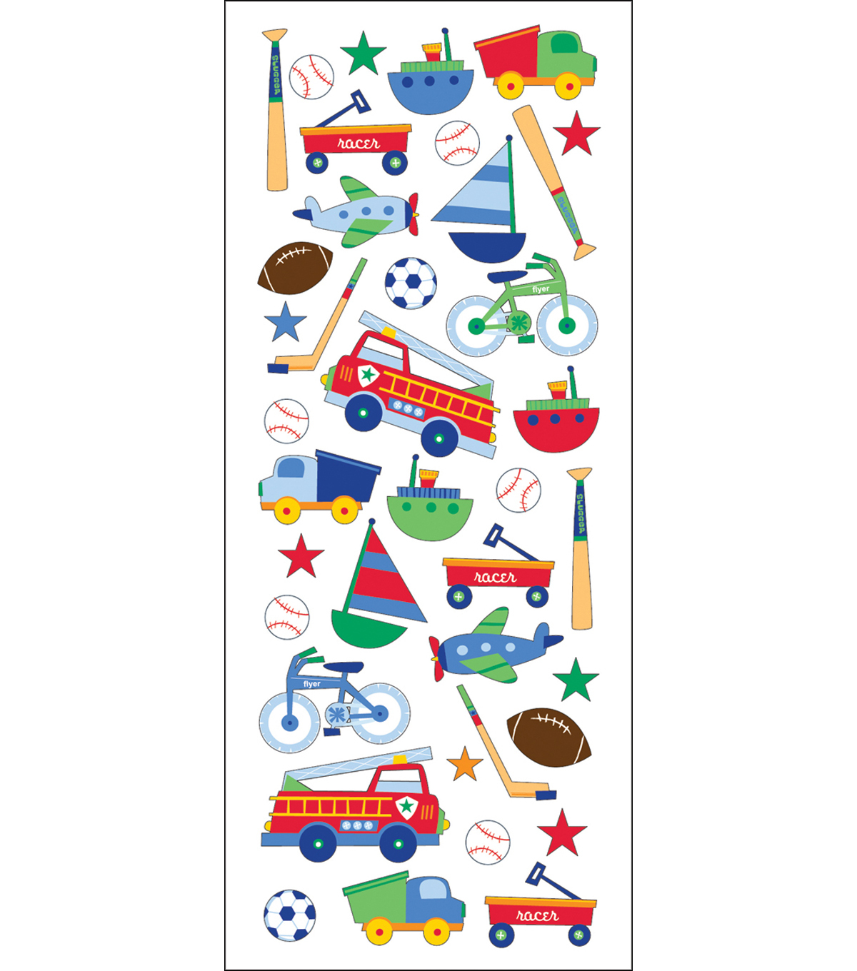 Puffy Classic Stickers-Toys For Boys