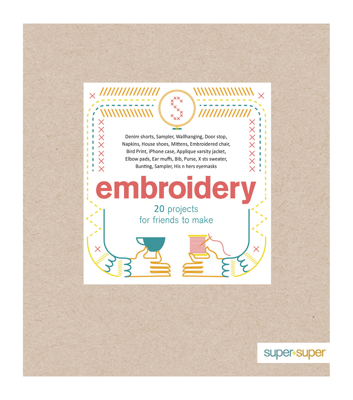 Embroidery Softcover Book