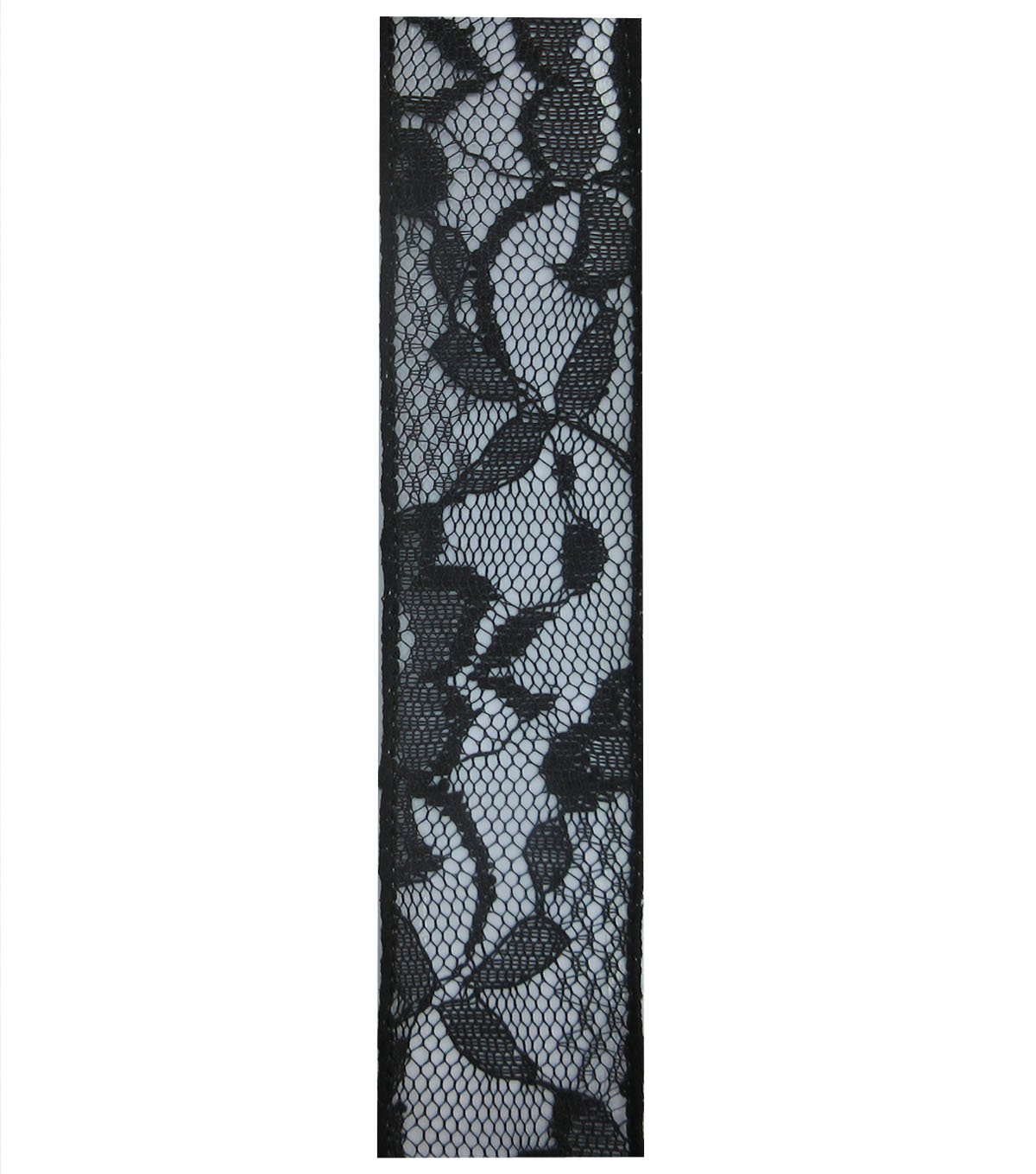 Decorative Ribbon 1.5\u0027\u0027x15\u0027 Lace Ribbon-Black