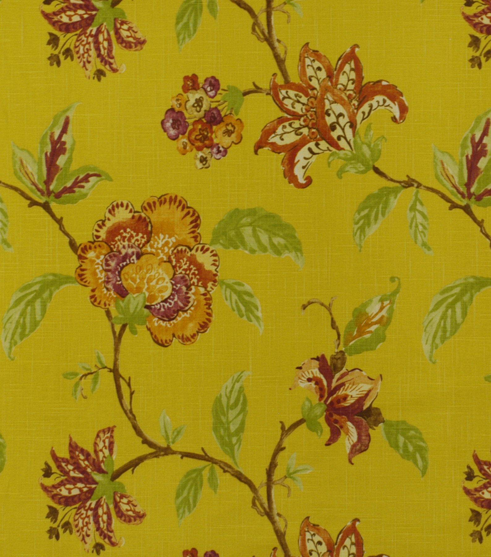 Robert Allen @ Home Upholstery Fabric 54\u0022-Les Fauves Sunshine