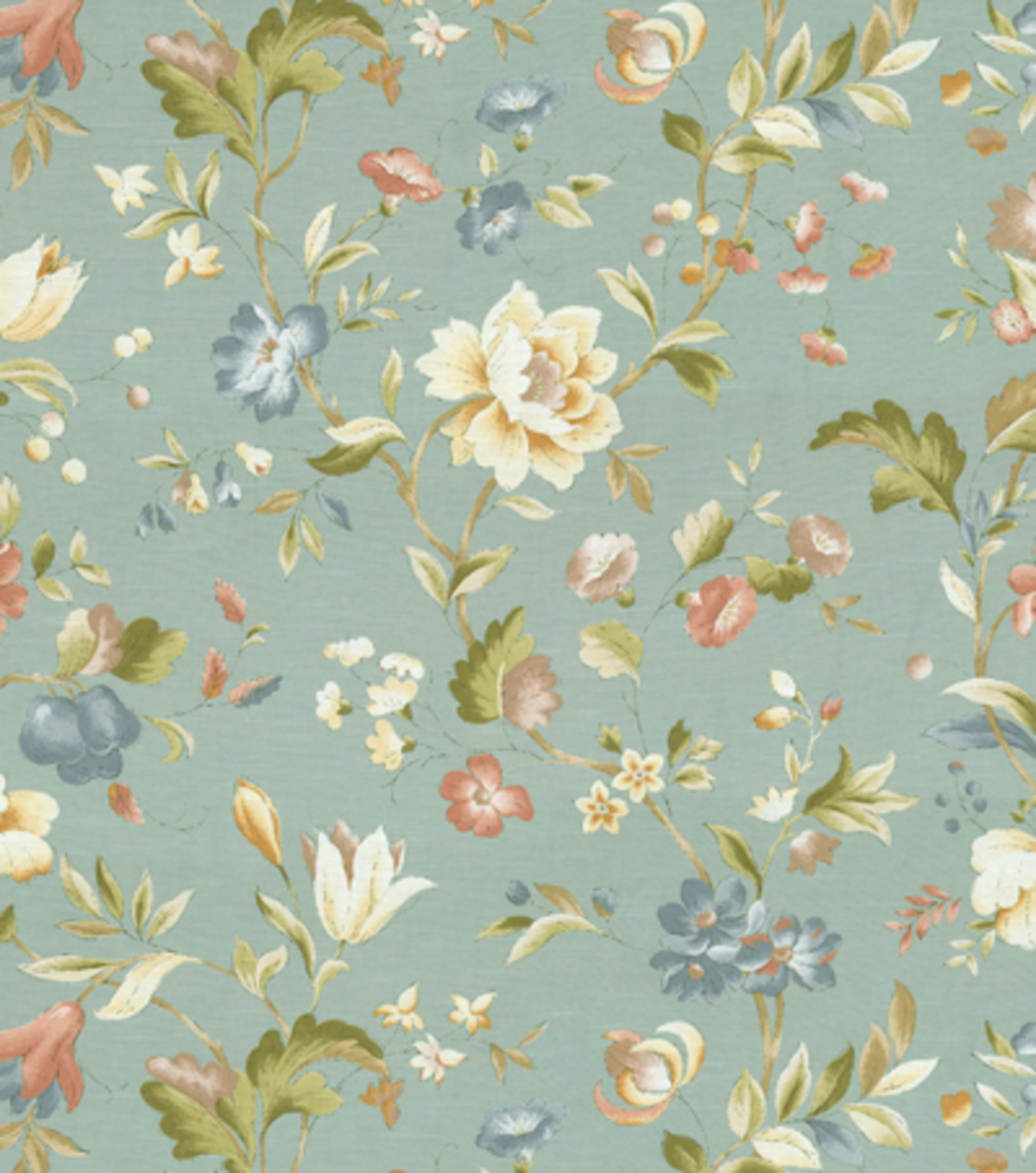 Richloom Studio Print Fabric 54\u0022-Mindy Surf