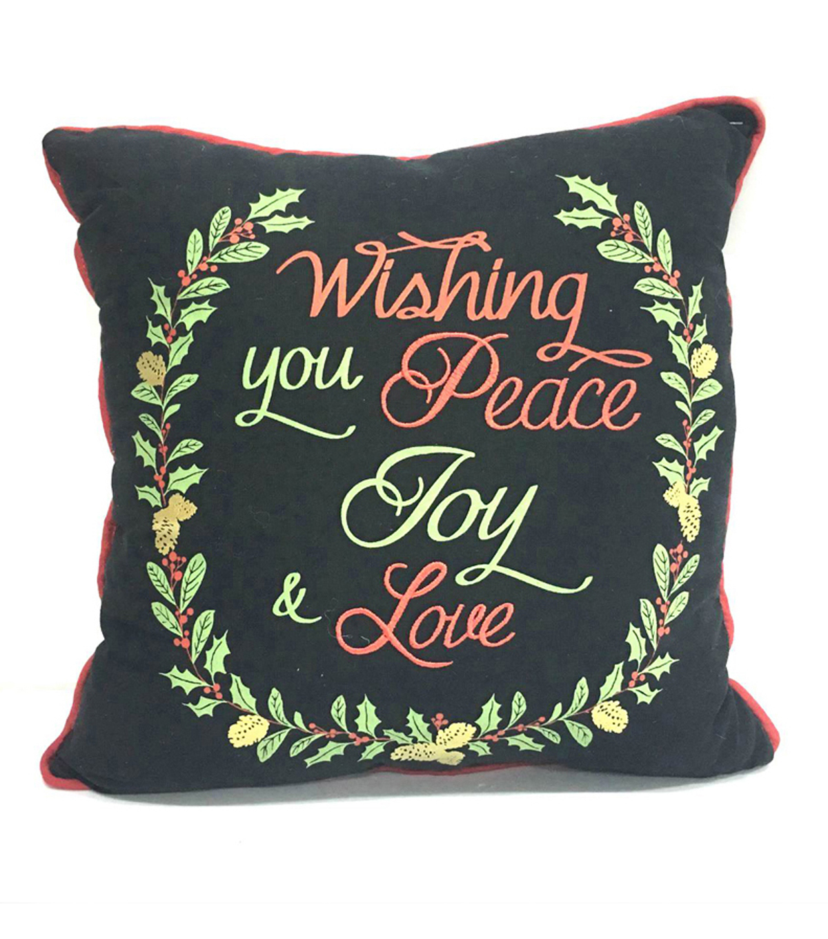 Maker's Holiday Pillow-Wishing You