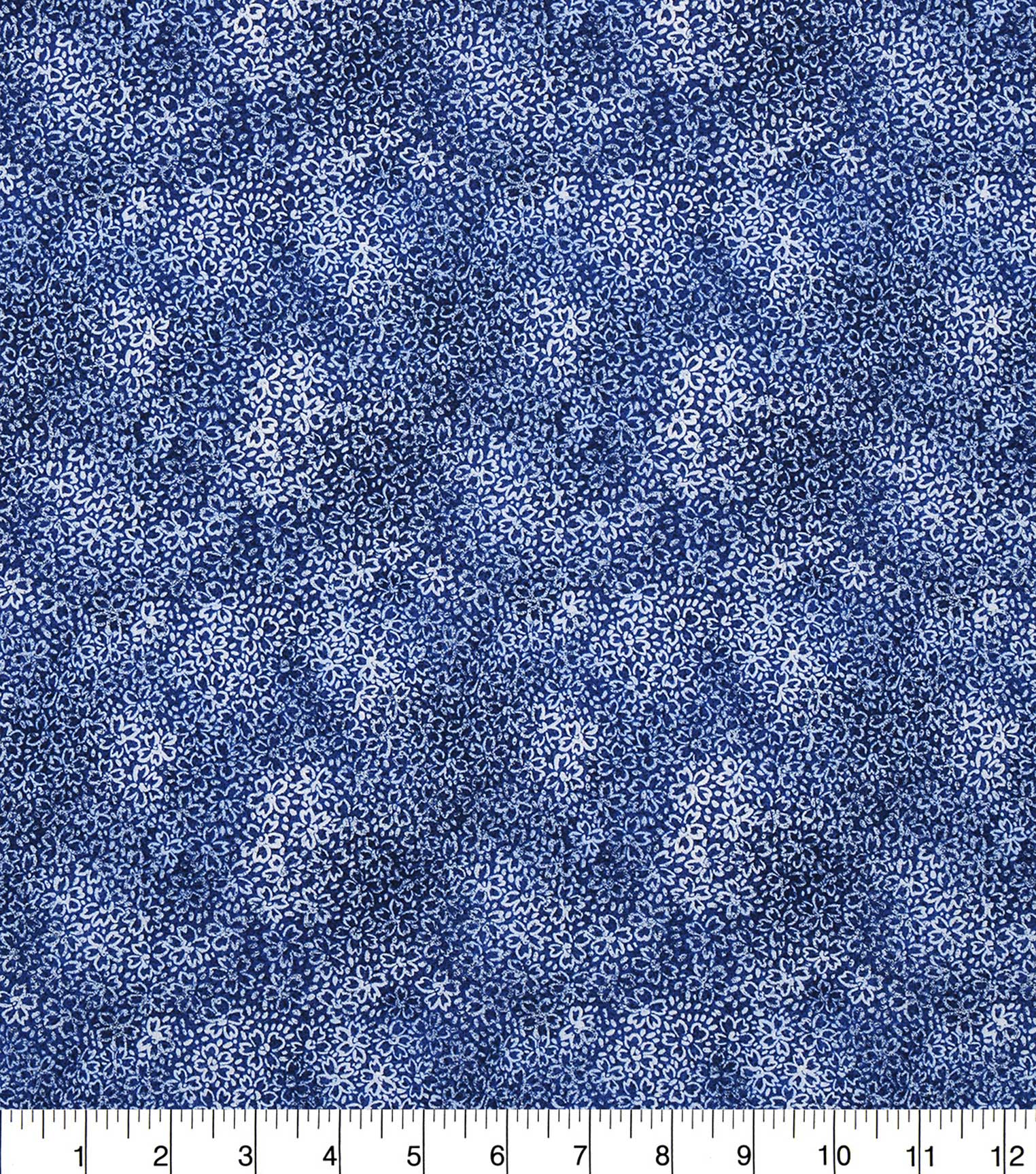 "Keepsake Calico™ Cotton Fabric 43""-Floral Blue"