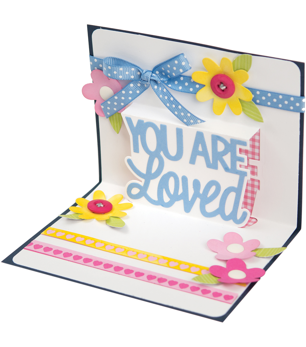 Sizzix® Thinlits™ 4 Pack Dies-You Are Loved 3D Drop-Ins