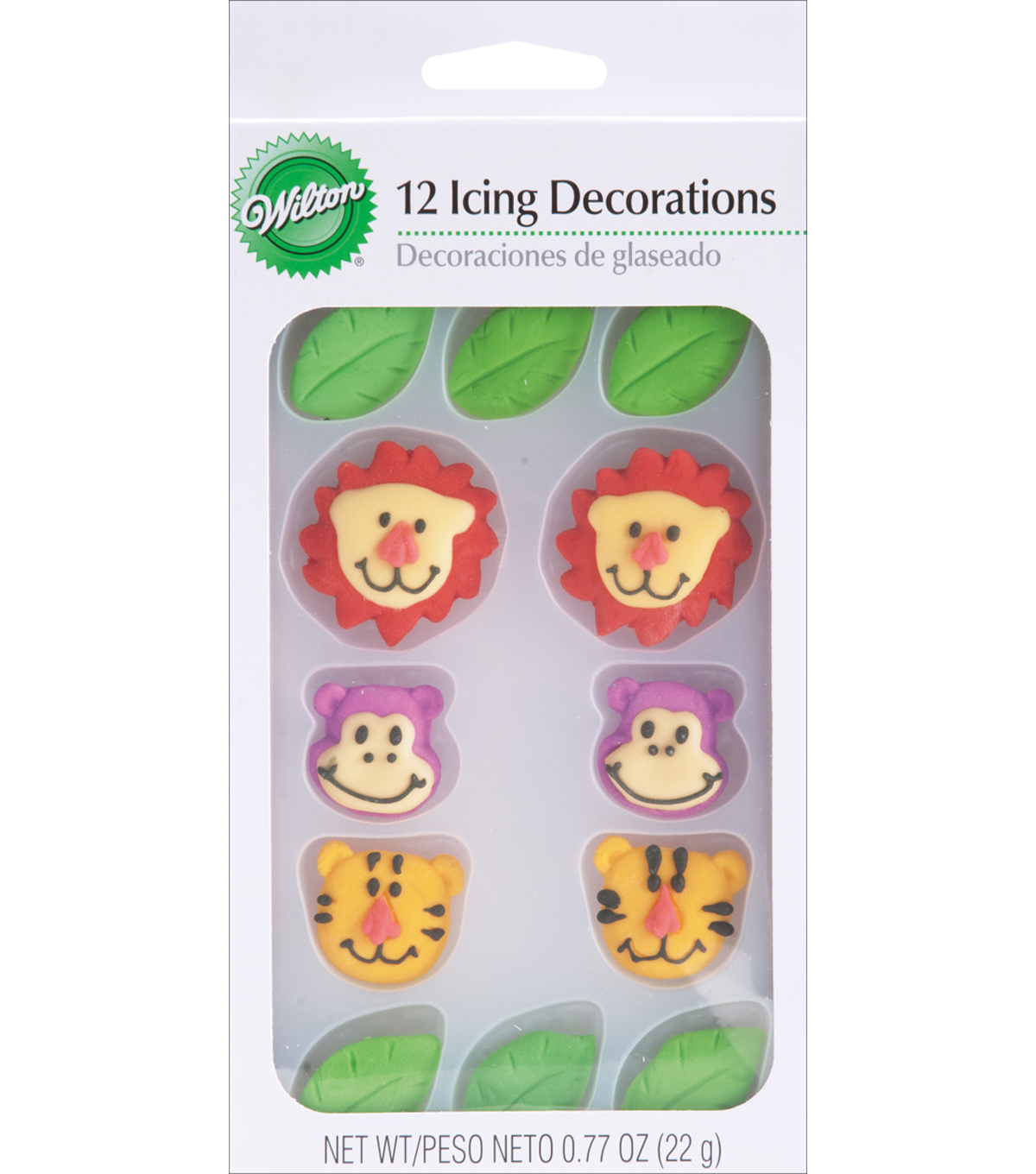 Wilton® Royal Icing Decorations-Jungle Pals
