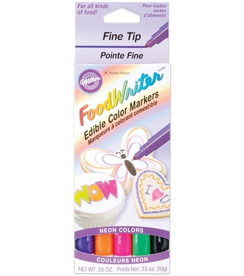 Wilton Fine Tip Food Writer Edible Color Markers | JOANN
