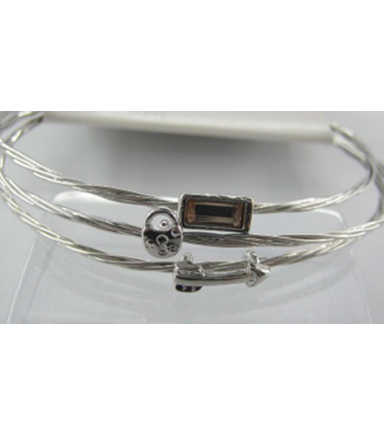 Bangle Expressions Silver Bracelet Assortment 229