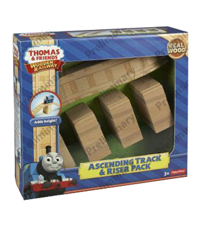Thomas & Friends Wooden Ascending Track & Riser Pack