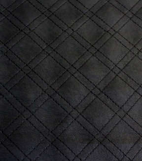 Quilted Faux Leather Fabric - Black | JOANN : quilted leather material - Adamdwight.com