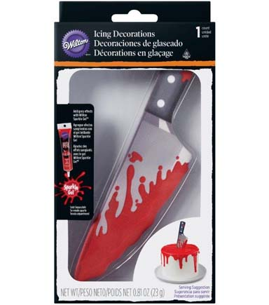Wilton Halloween 0.81 oz. Bloody Knife Icing Decoration