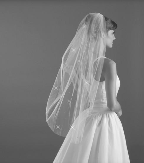 Mickey Ears Disney Wedding Dresses Veil