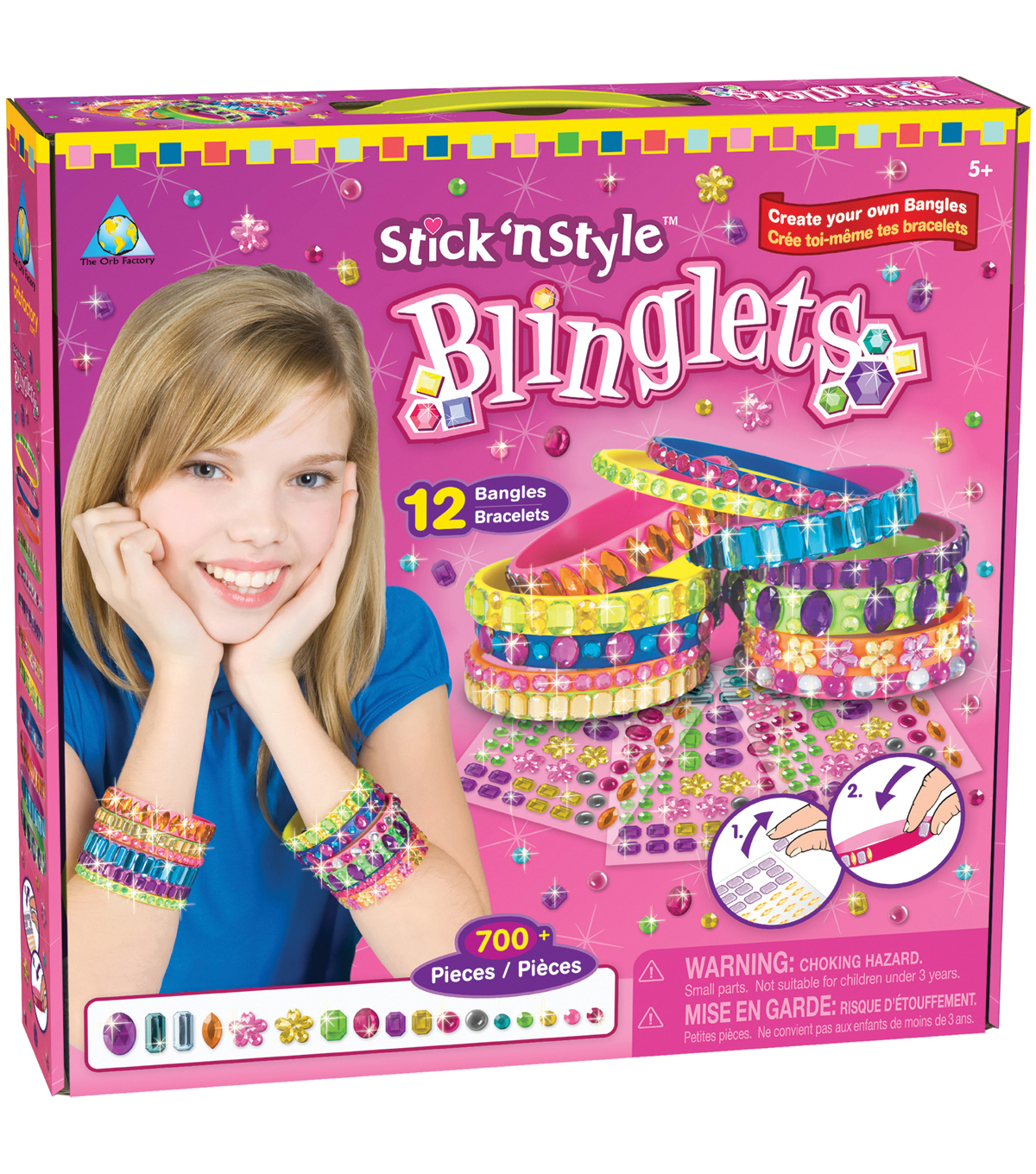 Stick 'n Style Kit-Blinglets
