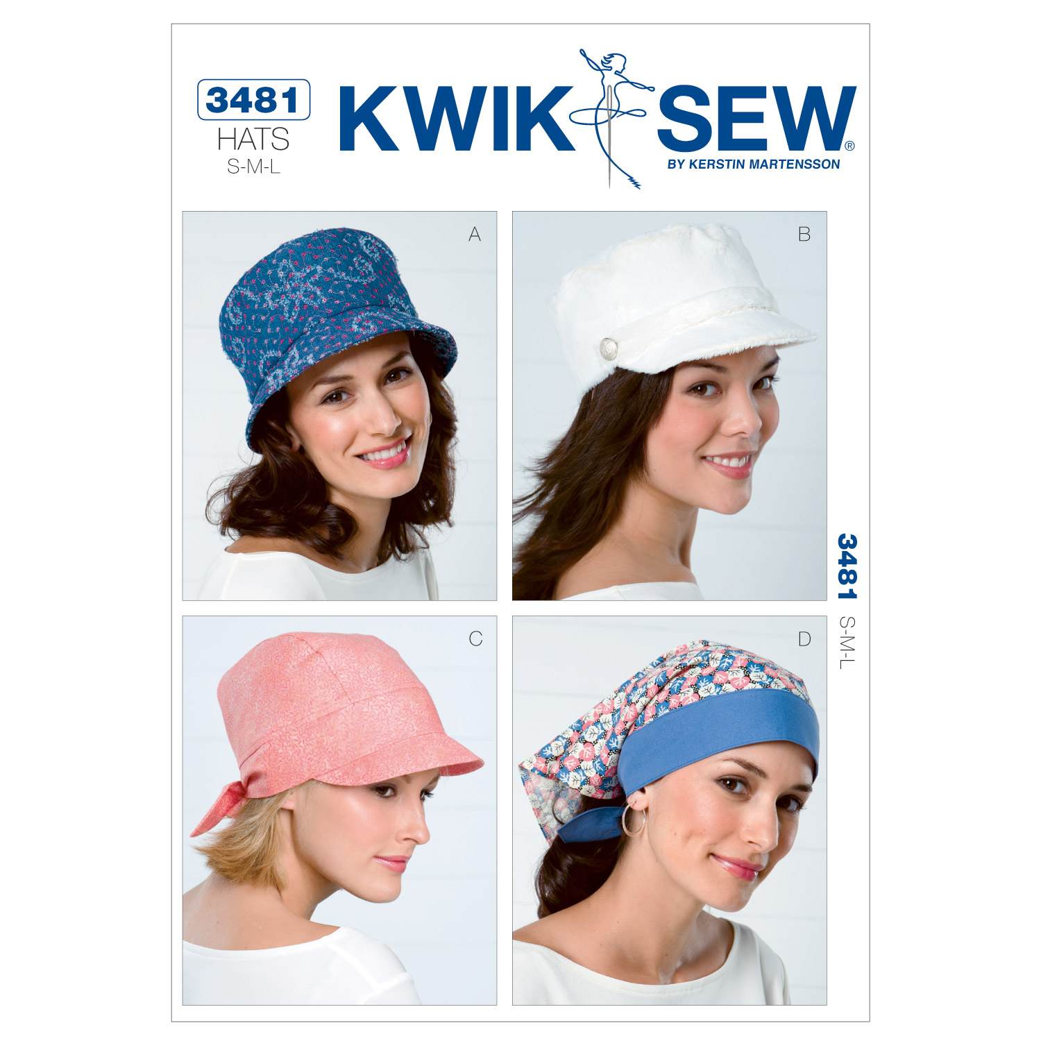 Kwik Sew Misses Headgear-K3481