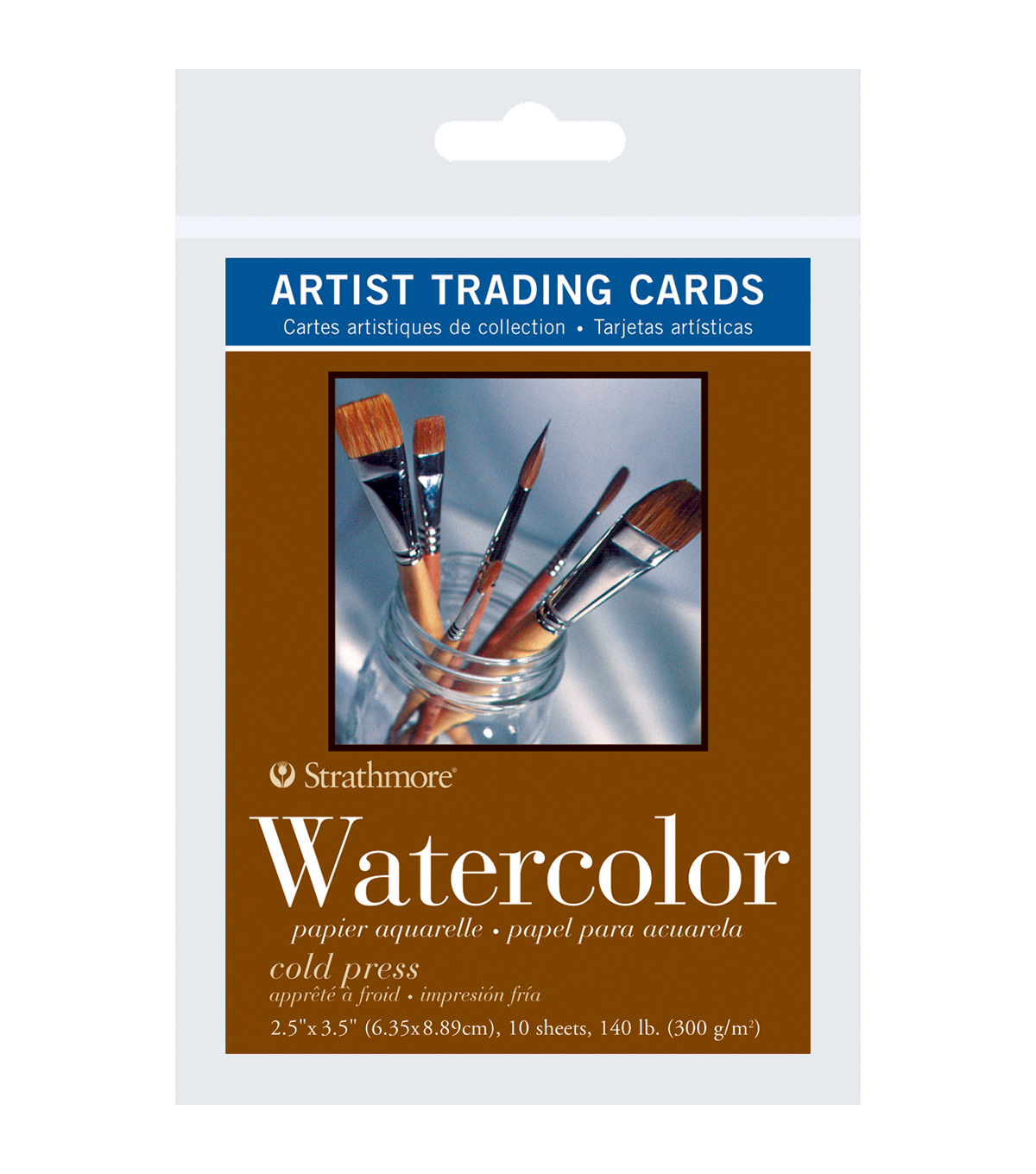 Strathmore Artist Trading Cards 2.5\u0022X3.5\u0022-Watercolor Cold Press