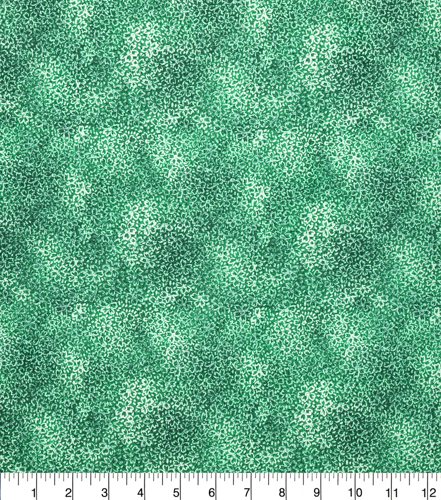 "Keepsake Calico™ Cotton Fabric 43""-Floral Green"