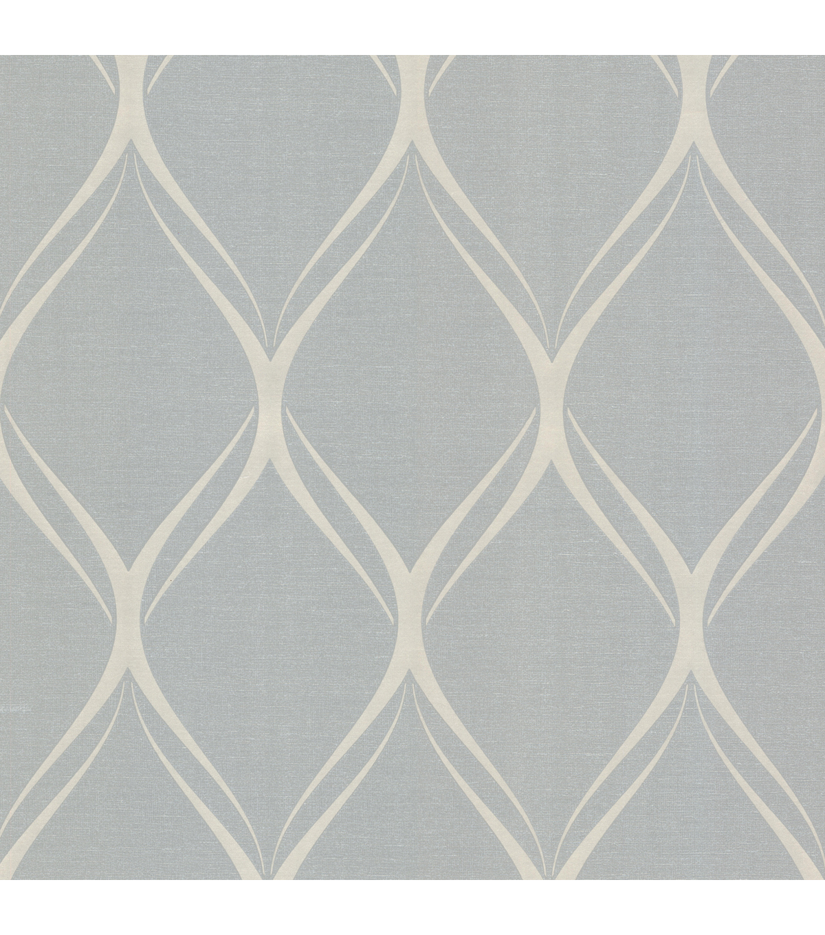 Gustav Grey Geometric Wallpaper Sample
