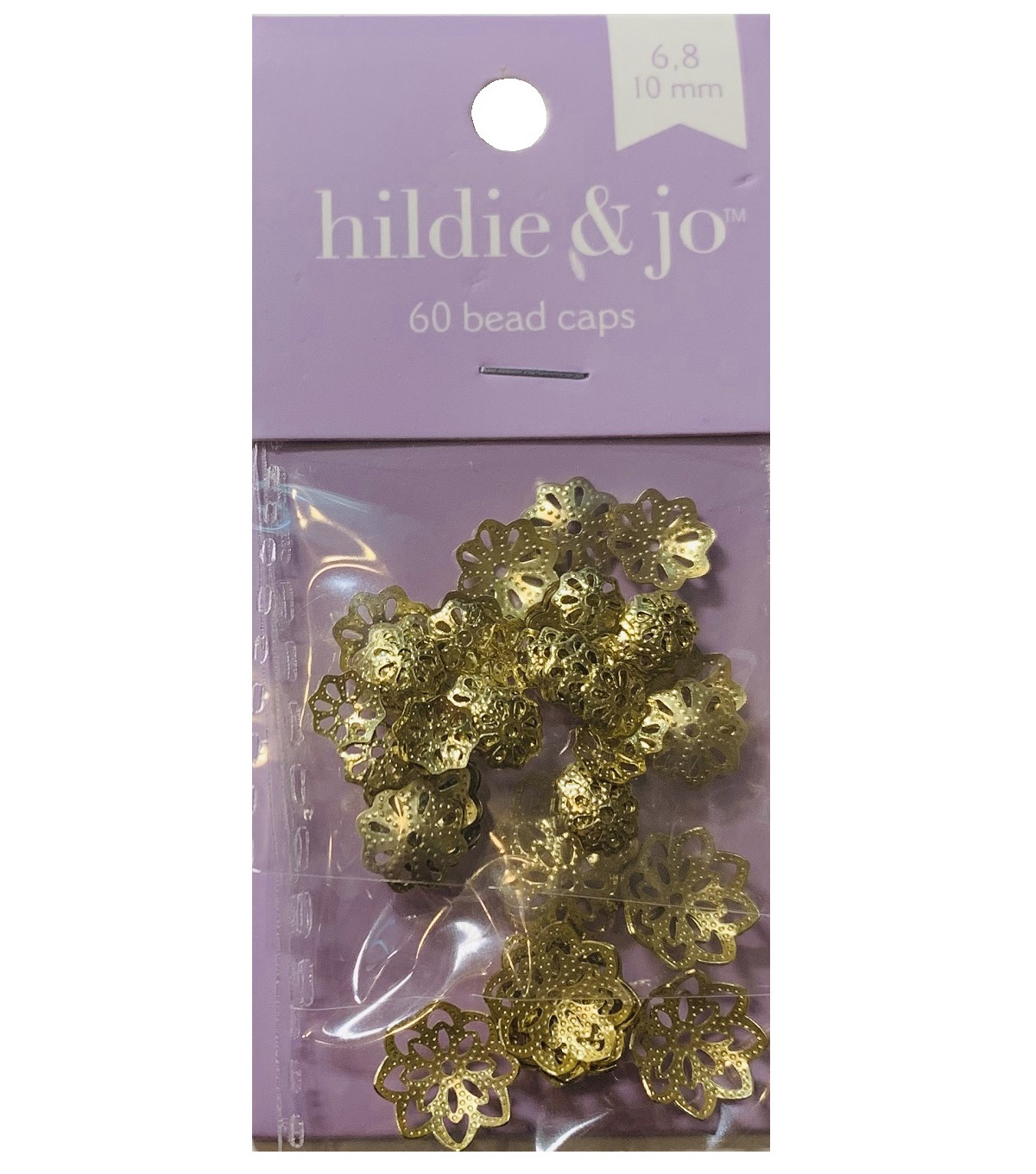 Blue Moon Findings Bead Cap Metal Multi Pack Filigree Matte Gold