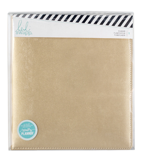 Heidi Swapp Large Memory Planner-Gold
