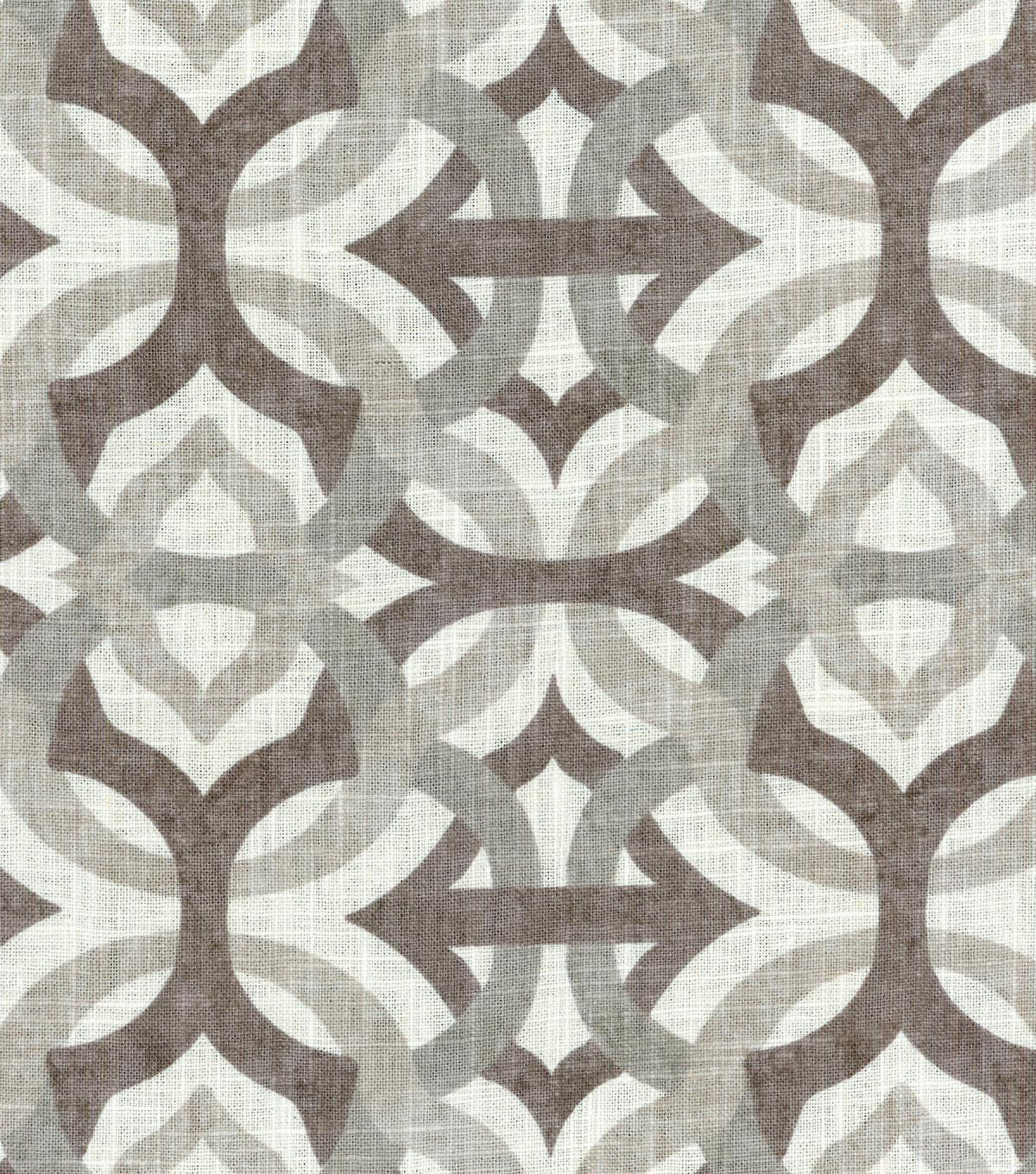"Waverly Upholstery Fabric 54""-Compton Flint"