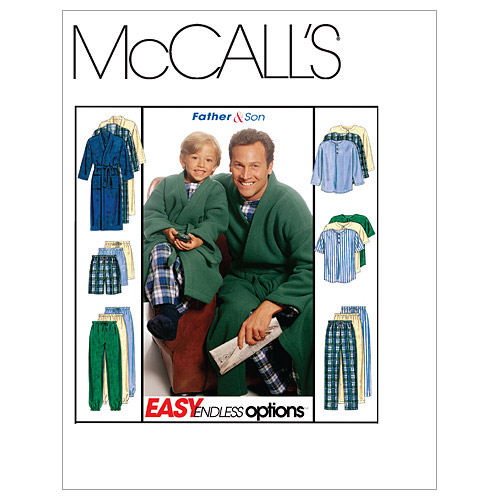 McCall's Father & Son Sleep & Lounge-M6236