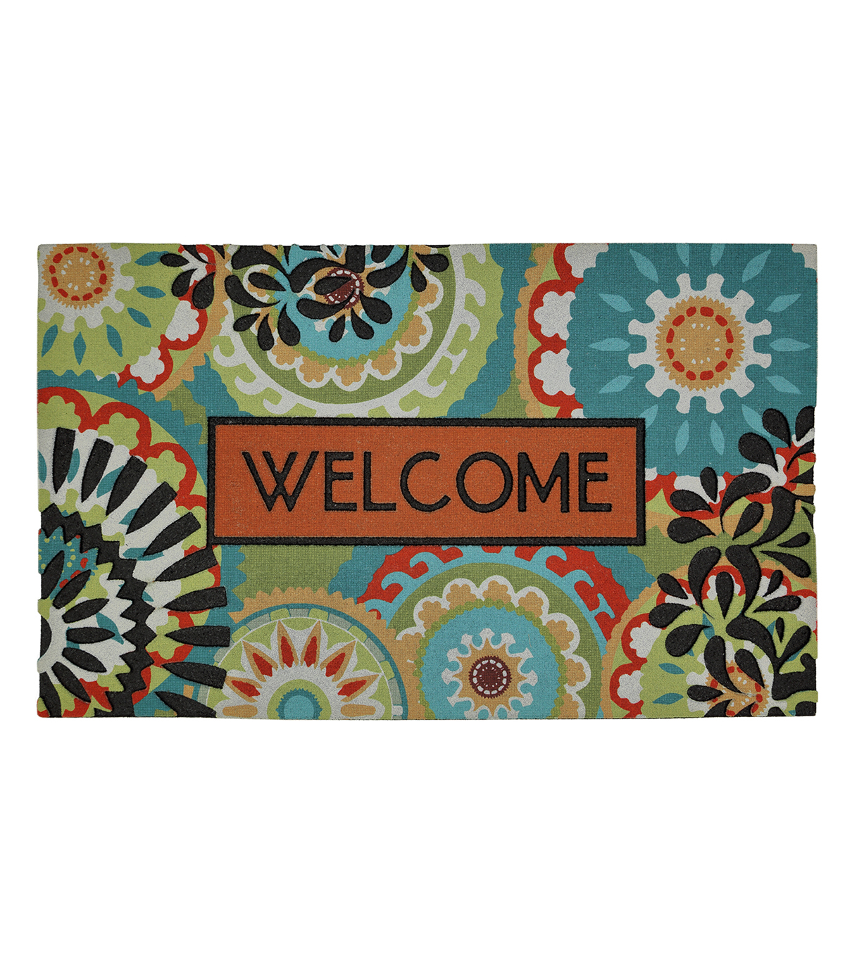 Mohawk Home 18\u0027\u0027x30\u0027\u0027 Doormat-Bright Aztec Medallion