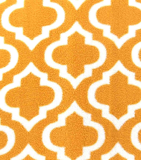 "Anti-Pill Fleece Fabric 59""-Golden Moroccan"