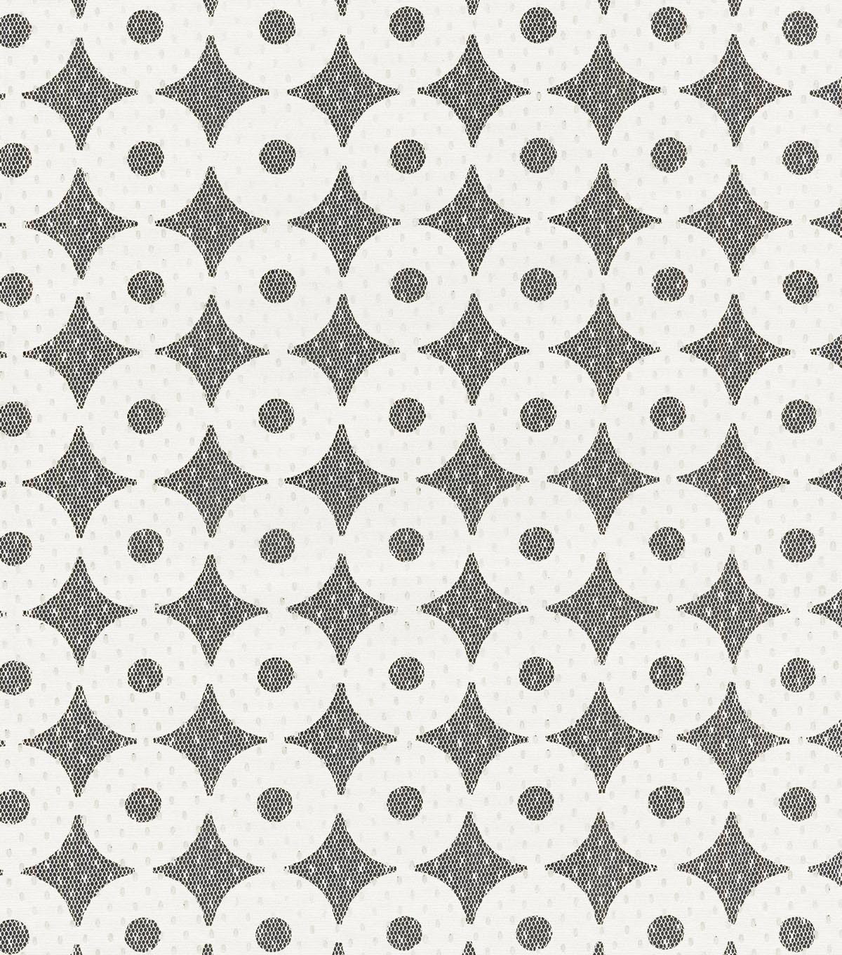 Home Decor 8\u0022x8\u0022 Swatch Fabric-IMAN Home Sayan Circles Alabaster