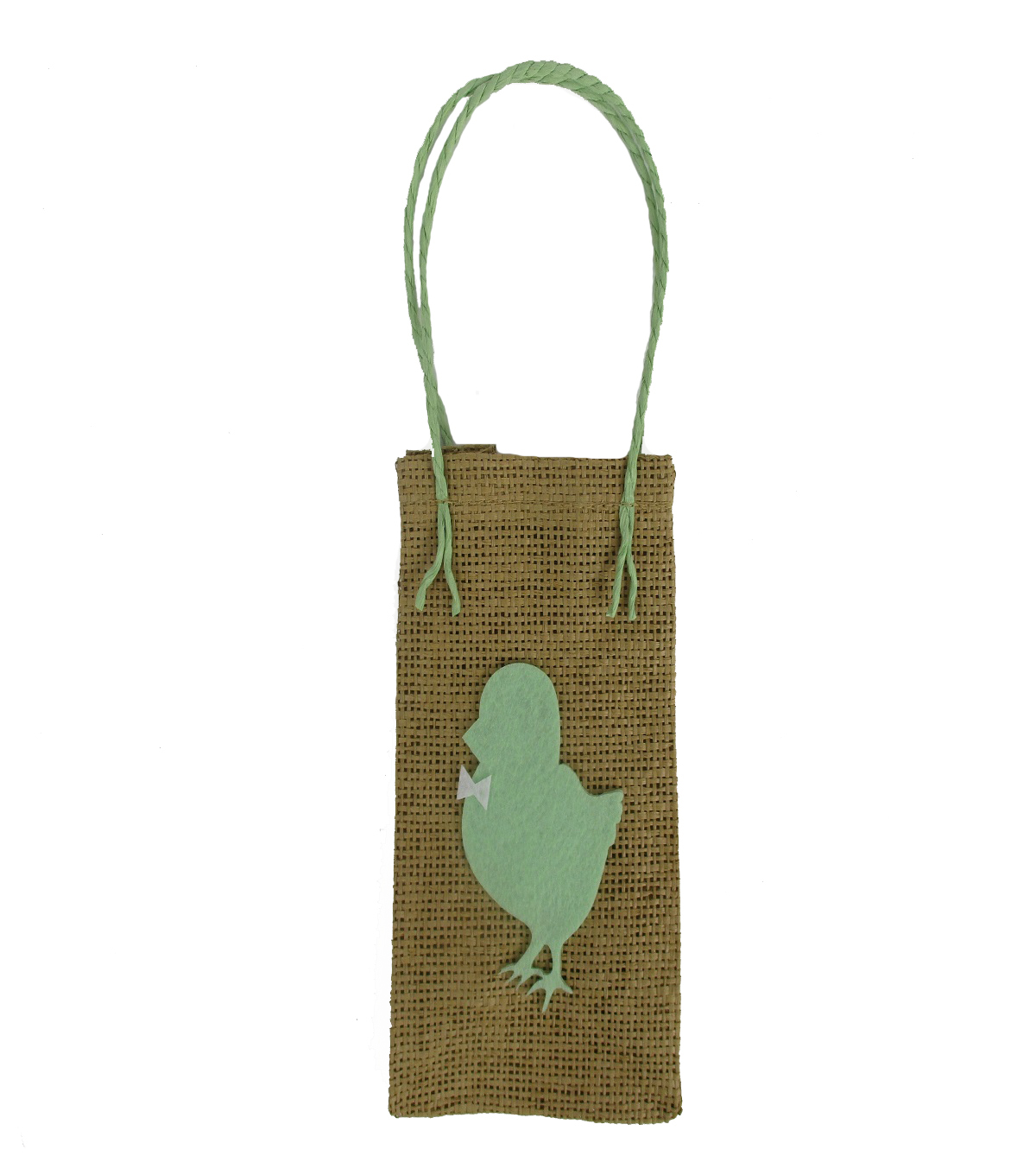 Easter Jute Bag-Green