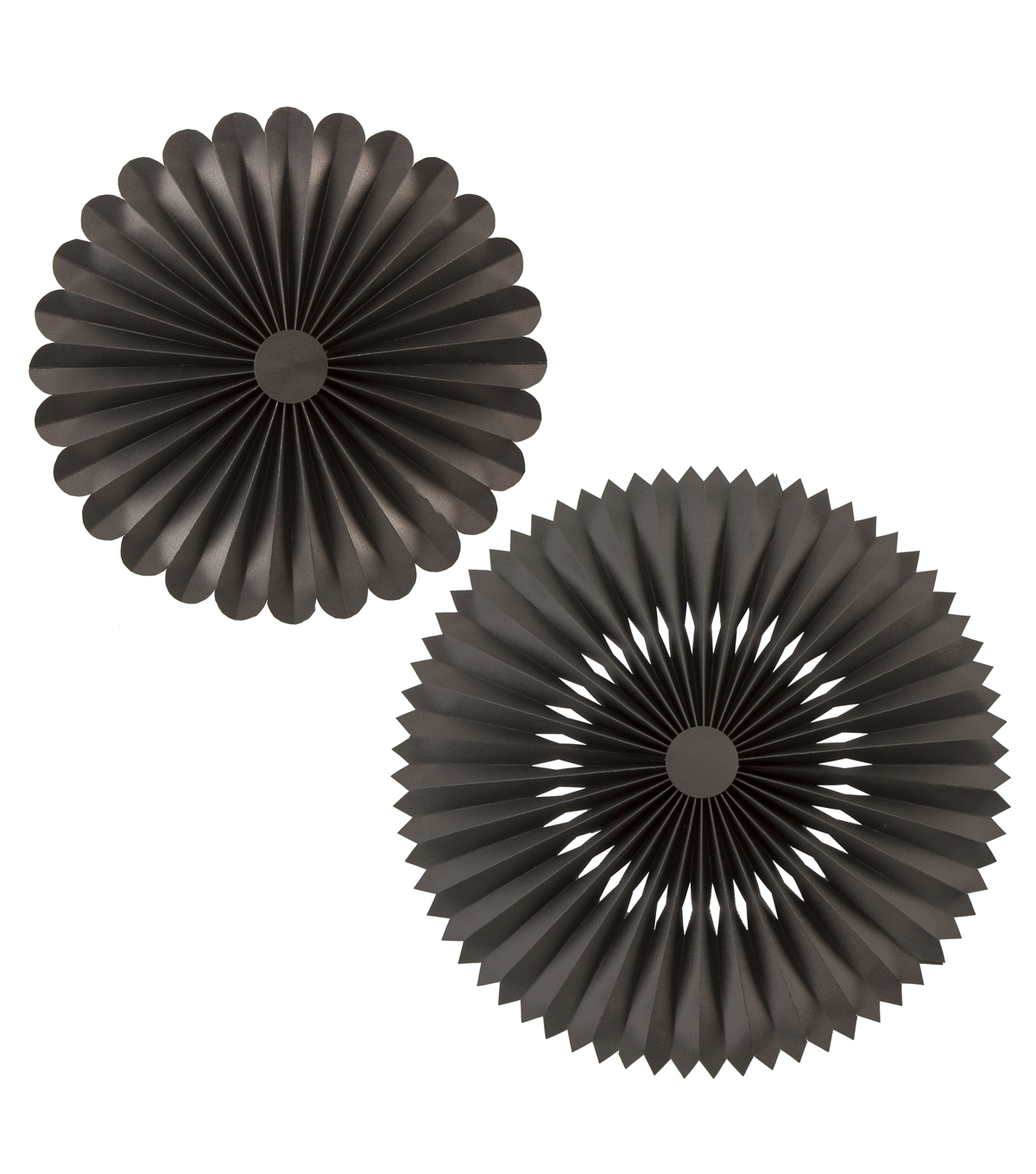 Mixers - Soot Black Rosettes, 2pcs.