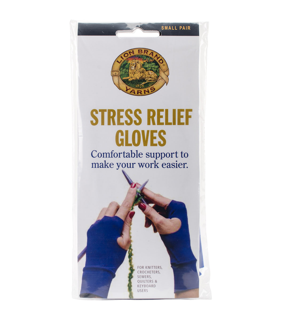 Stress Relief Gloves For Knitters-small