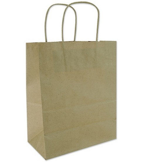 Tinted Kraft Bags X-Large W/Handle