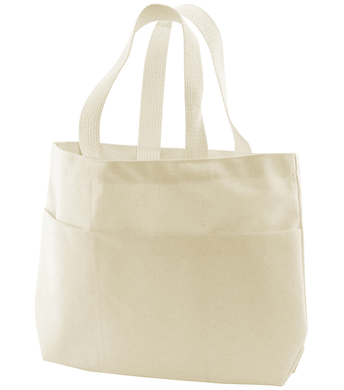 Bagworks Canvas Small Pocket Tote Bag-1PK/Natural | JOANN
