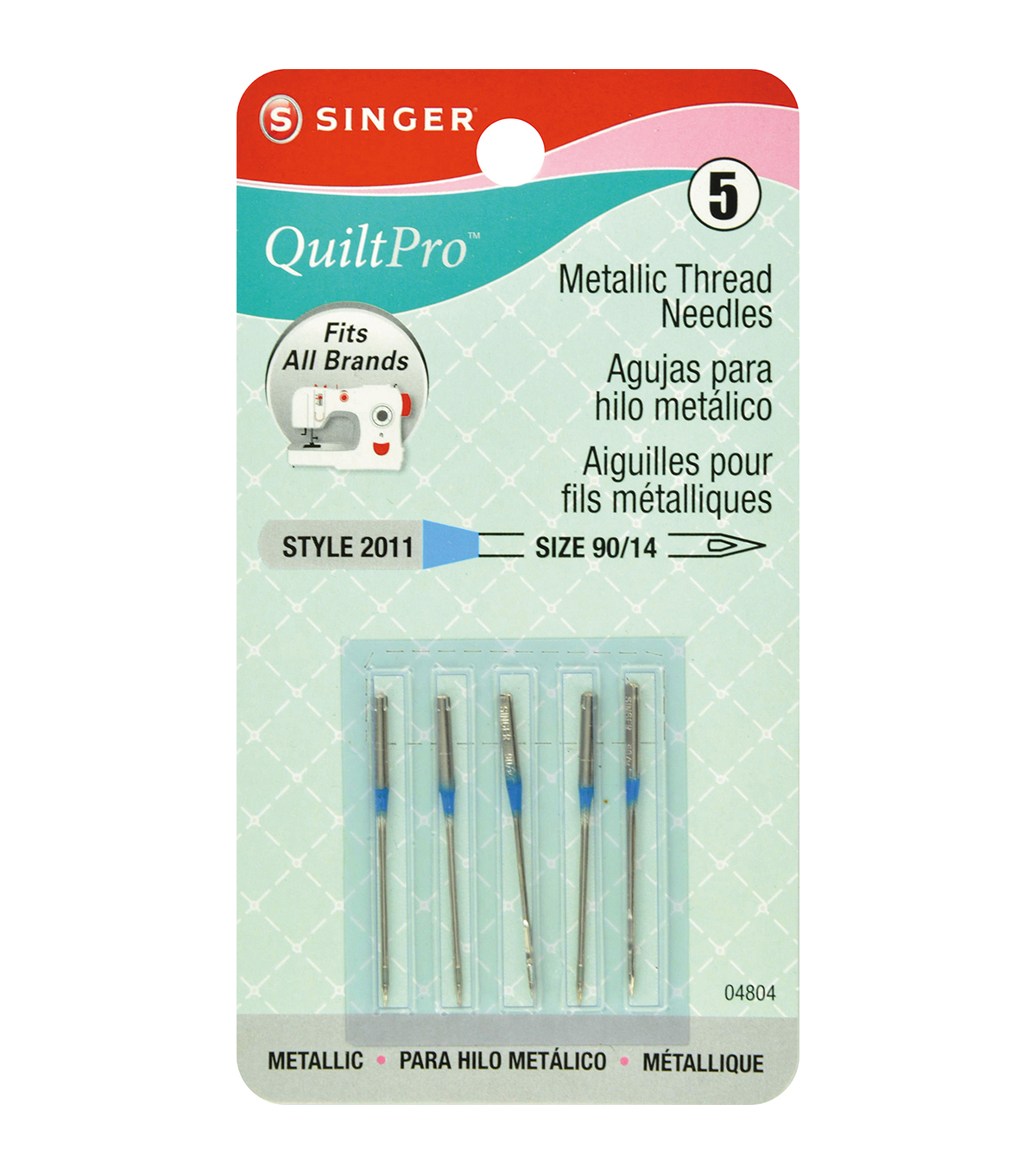 QuiltPro Metallic Thread Machine Needles