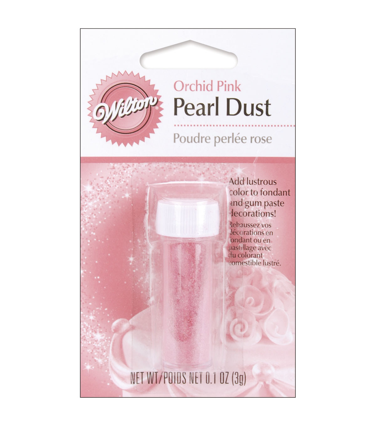 Wilton® Pearl Dust 3g/Pkg Lilac Purple