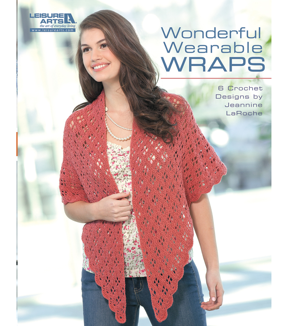 Leisure Arts-Wonderful Wearable Wraps