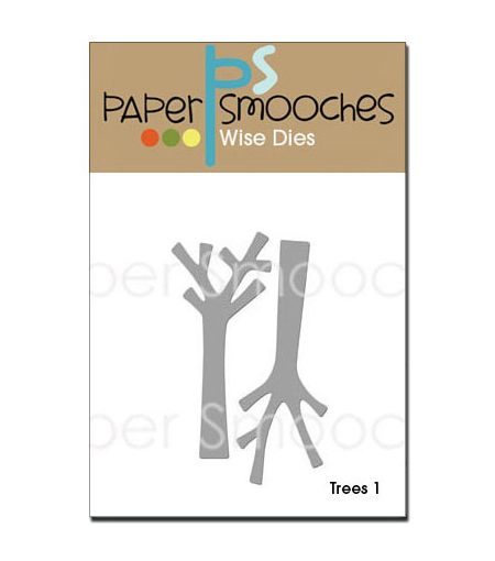 Paper Smooches Die-Trees 1