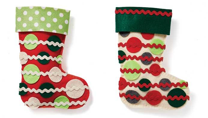 Kids Hand Sewn Mini Stocking