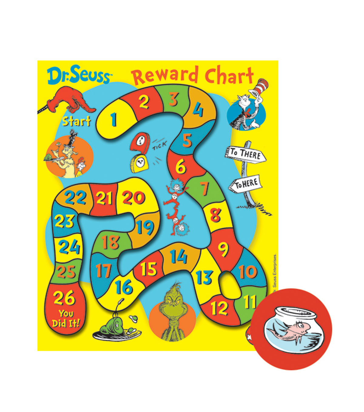 Dr. Seuss™ Reward Charts with Stickers