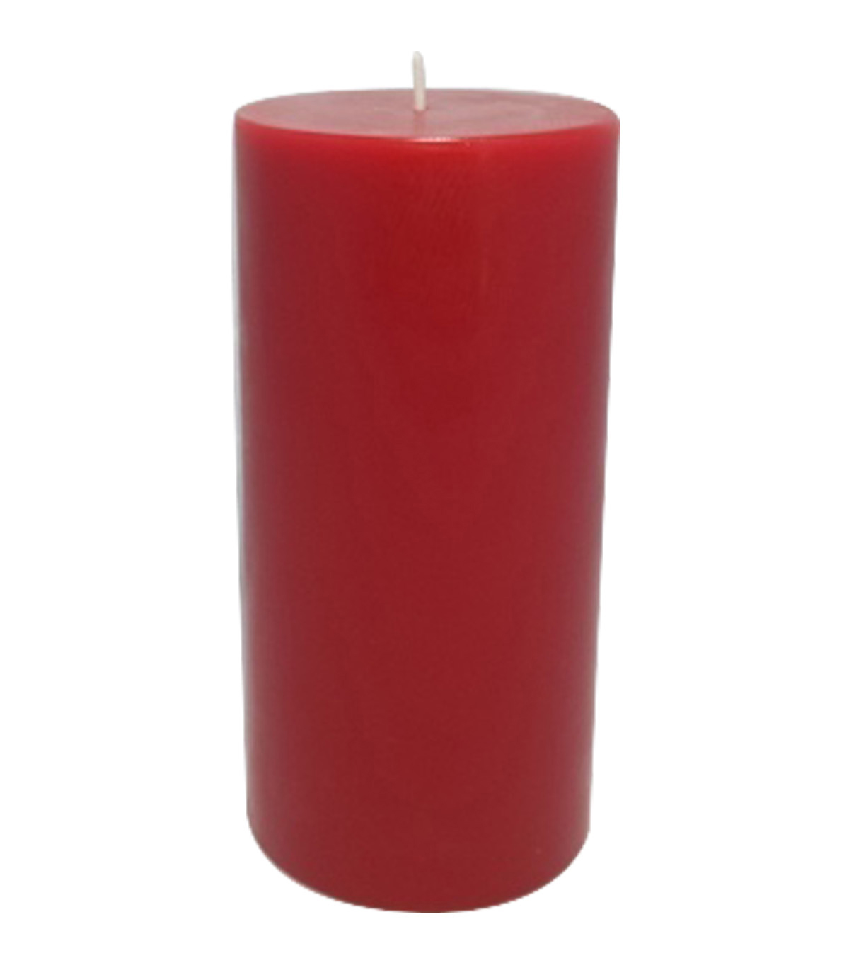 Maker\u0027s Holiday Christmas 3\u0027\u0027x6\u0027\u0027 Cinnamon Scented Pillar Candle-Red