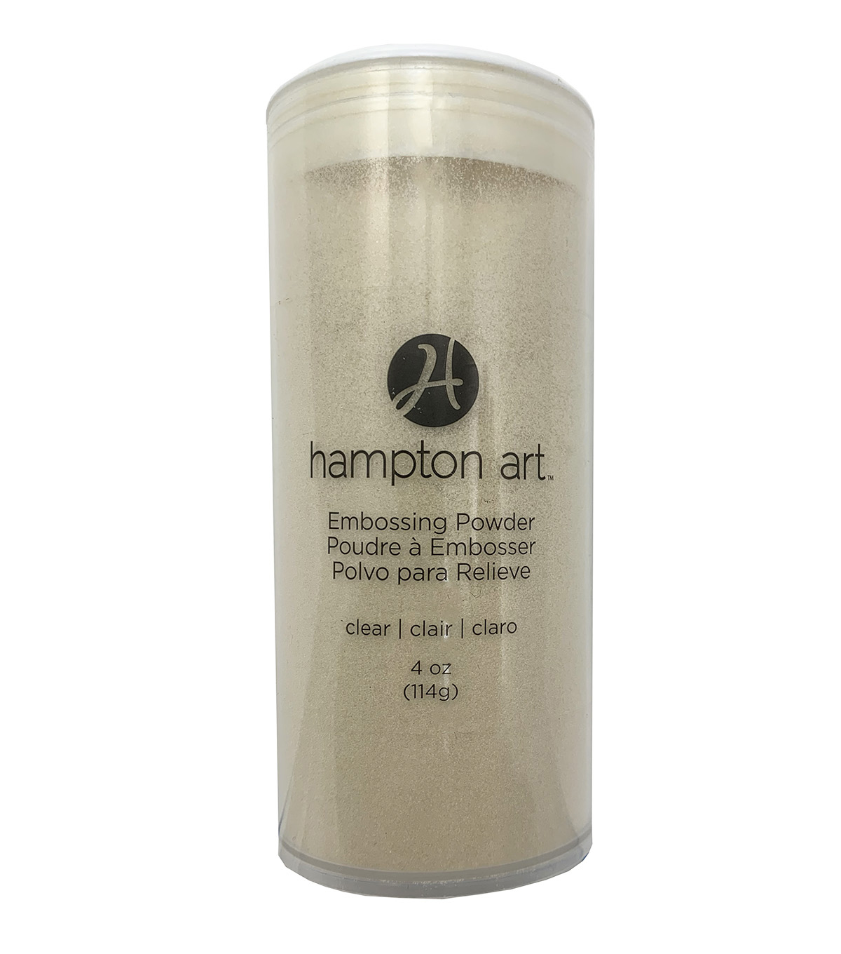 Hampton Art A La Mode 4 oz. Clear Embossing Powder