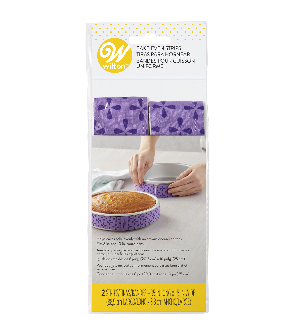 Bake Even Strip Set-2 Piece