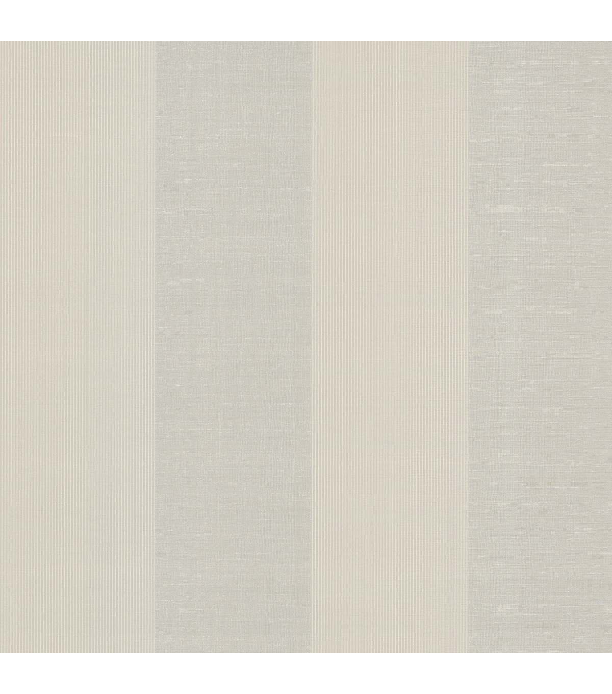 Rohfls Taupe Stripe Wallpaper Sample