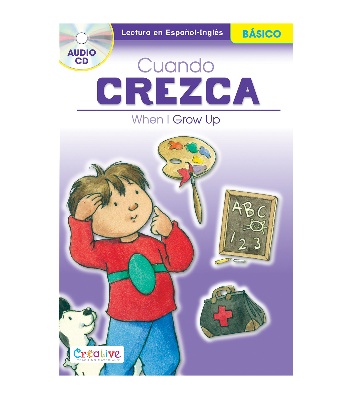 Pbs Publishing Spanish-English Book With CD-When I Grow Up