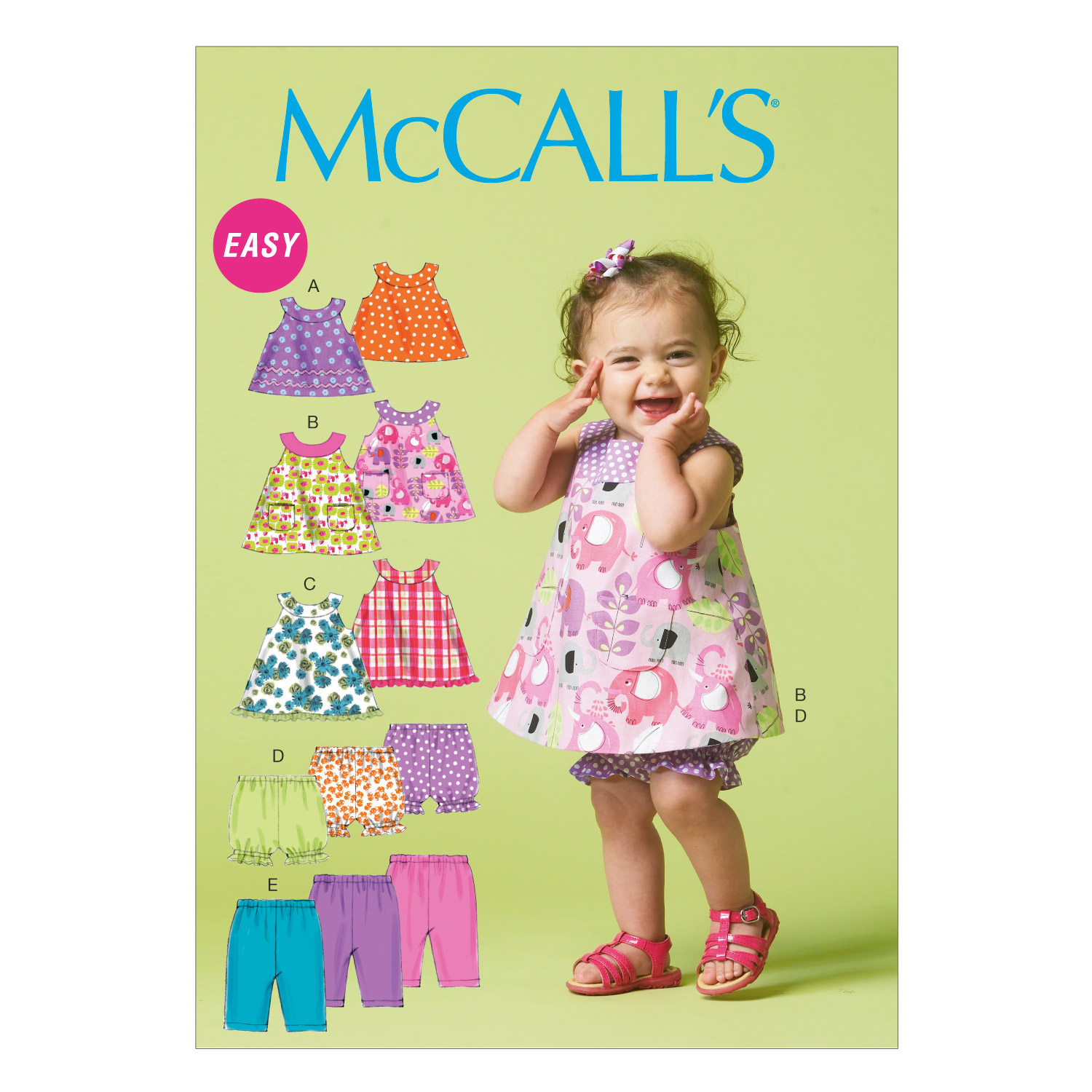 McCall's Infants Casual-M6912